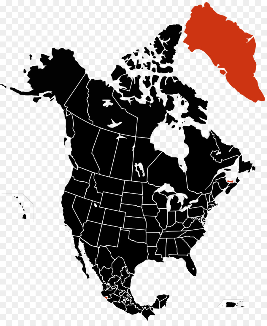 United States Vector Map World map - Canada png download - 996*1199 ...