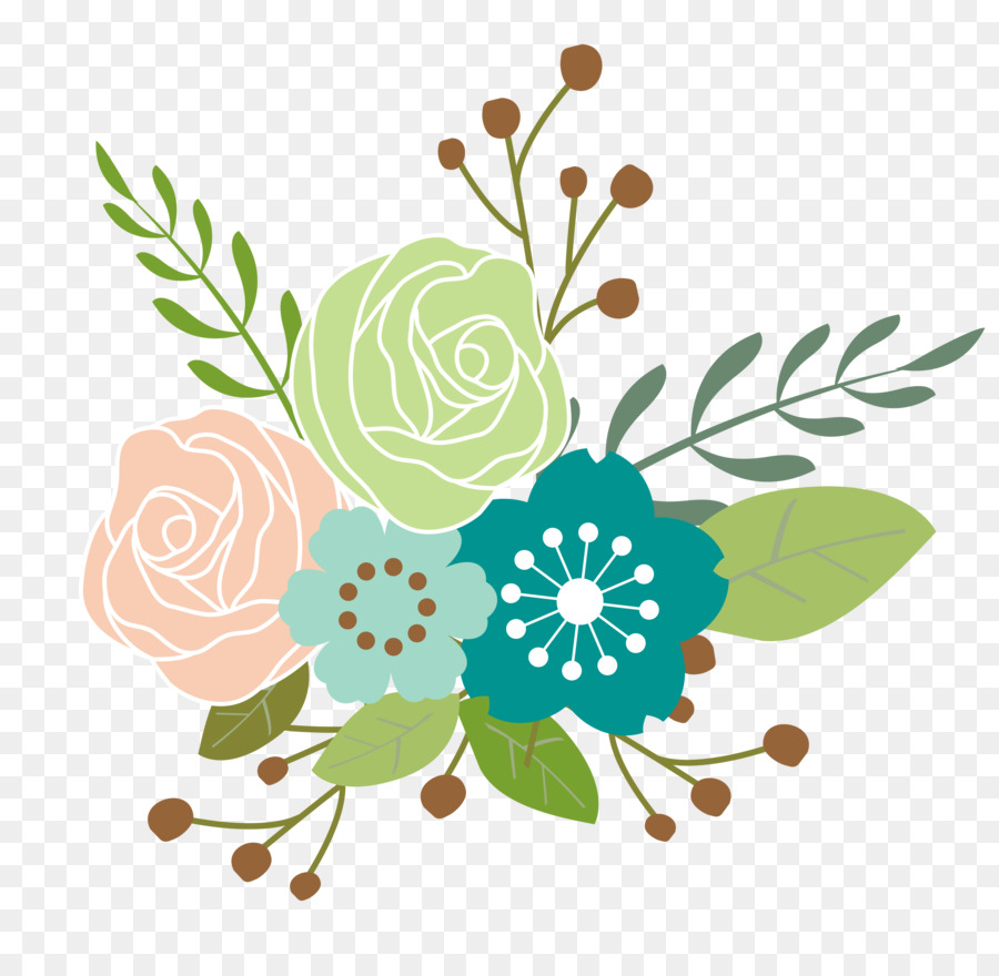 Spring Flower Clip Art Spring Flower Png Download 28002729