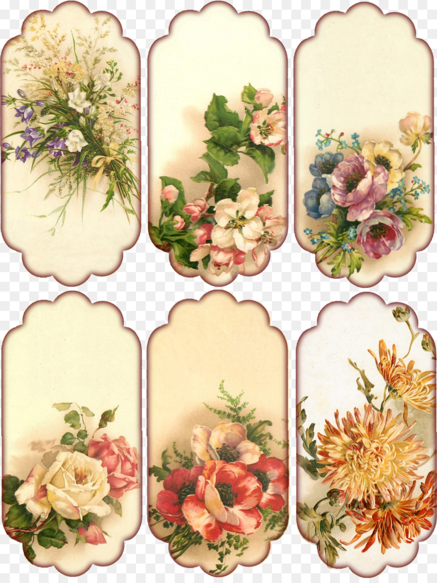 Pressed Flower Craft Floral Design Vintage Clothing Paper Pink