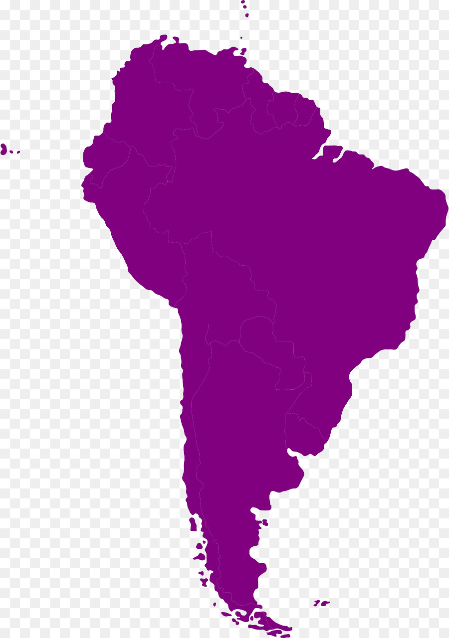 South America Latin America Vector Map Drawing aruba png download