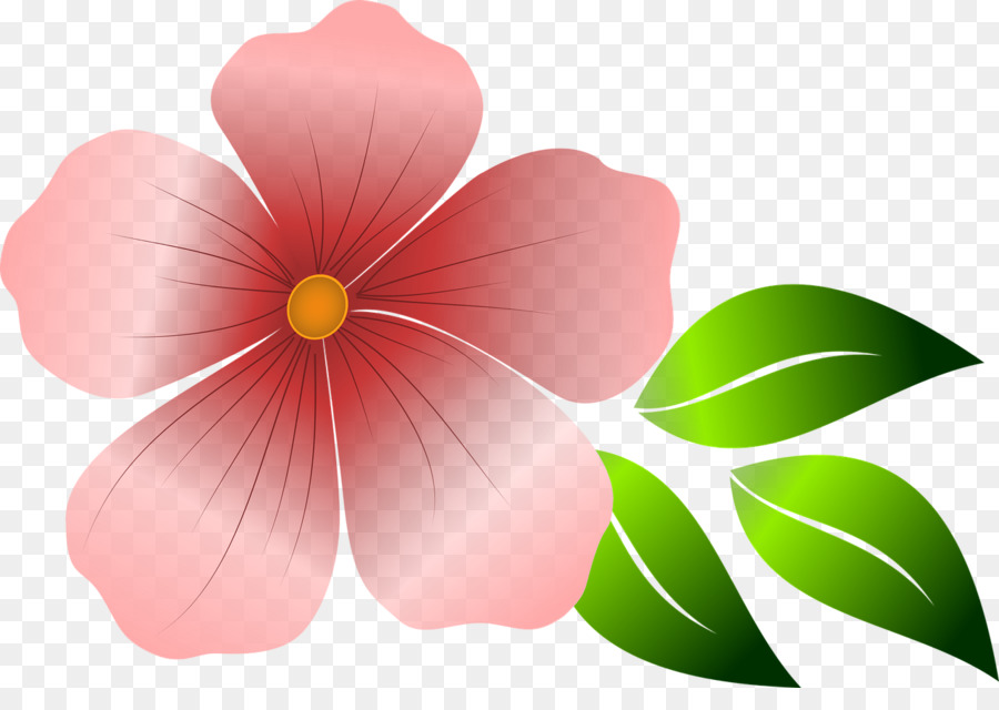 Pink Flowers Clip Art Bunga Png Download 1280 882 Free Transparent Flower Png Download