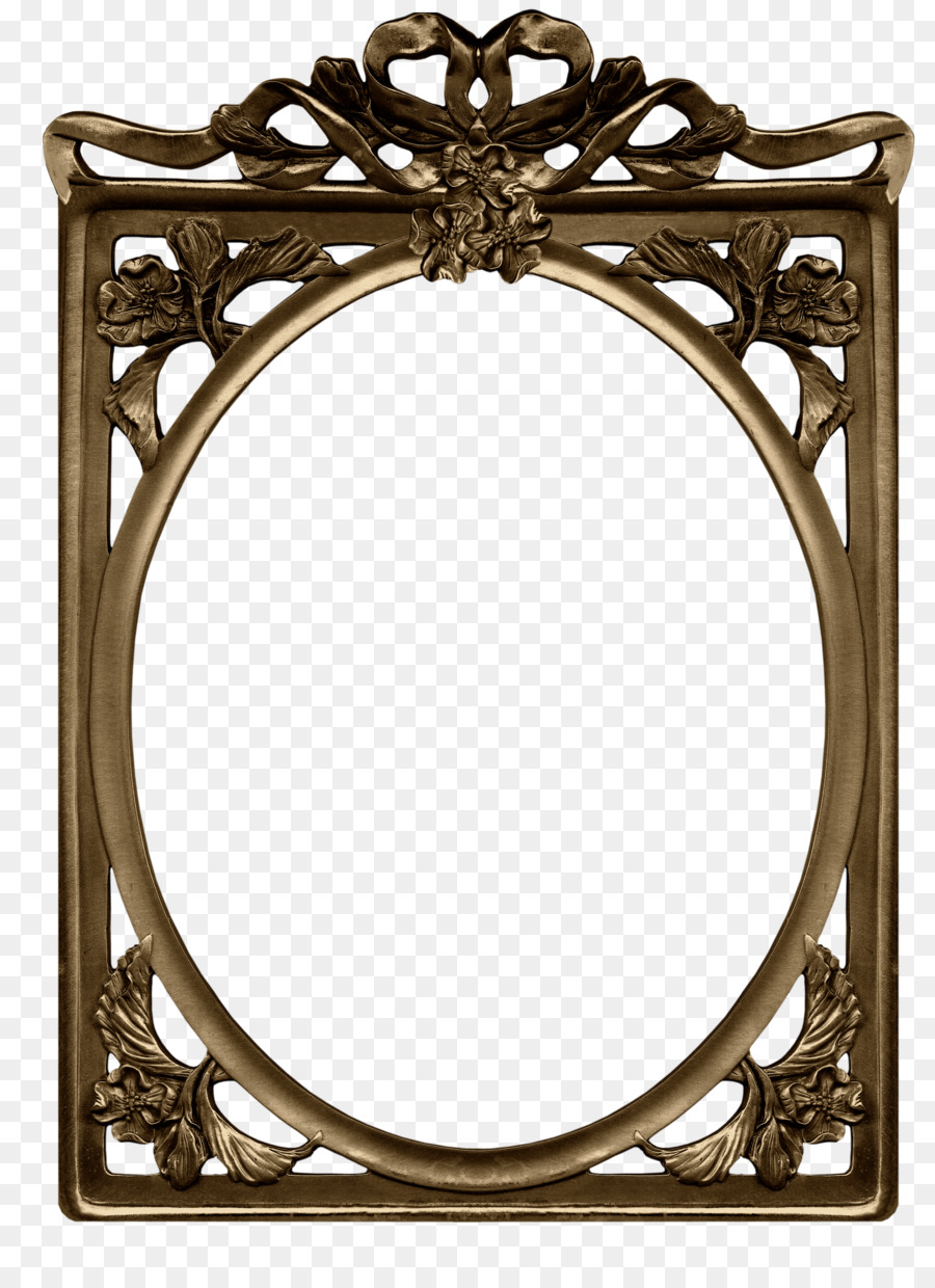 Picture Frames Gold Clip art - round gold png download - 2700*3700 ...