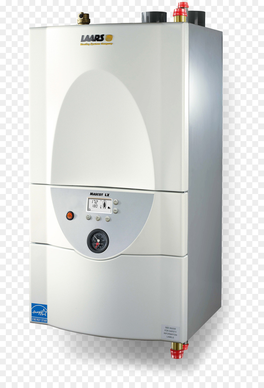 Boiler Water heating Central heating Natural gas - hot water png ...