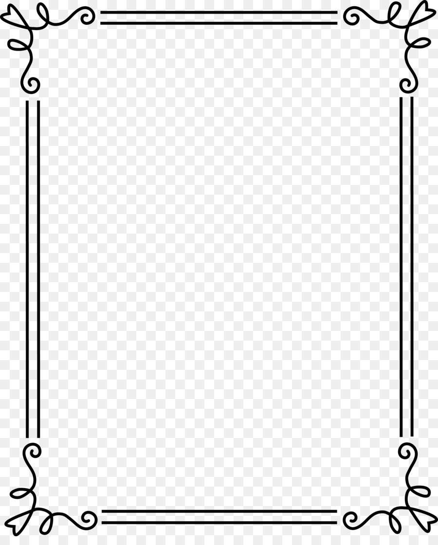 Borders and Frames Picture Frames Clip art - paper frame png ...