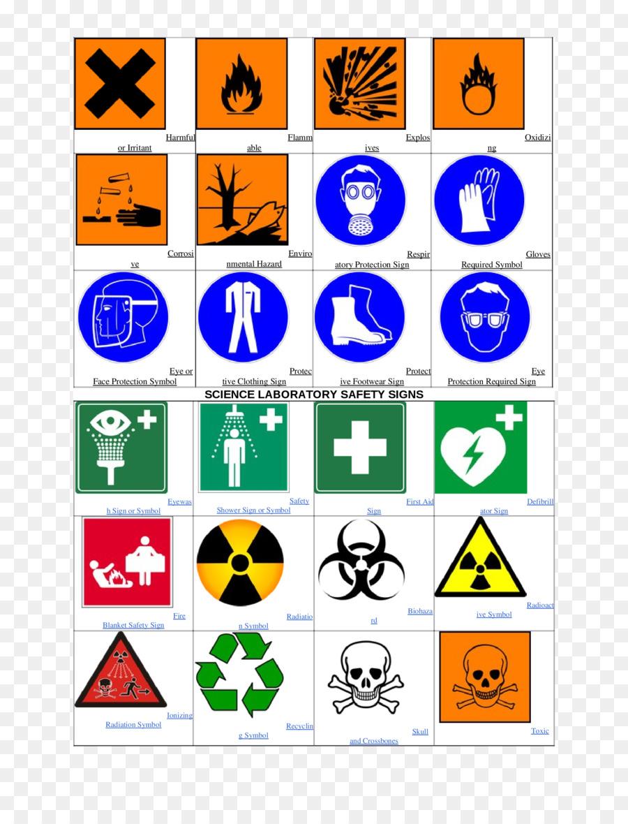 Laboratory Safety Hazard Symbol Sign Hse Png Download 17002200