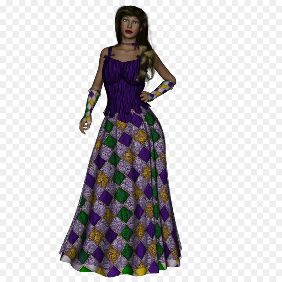 Clothing Dress Costume design Gown - mardi gras png download - 1200 ...
