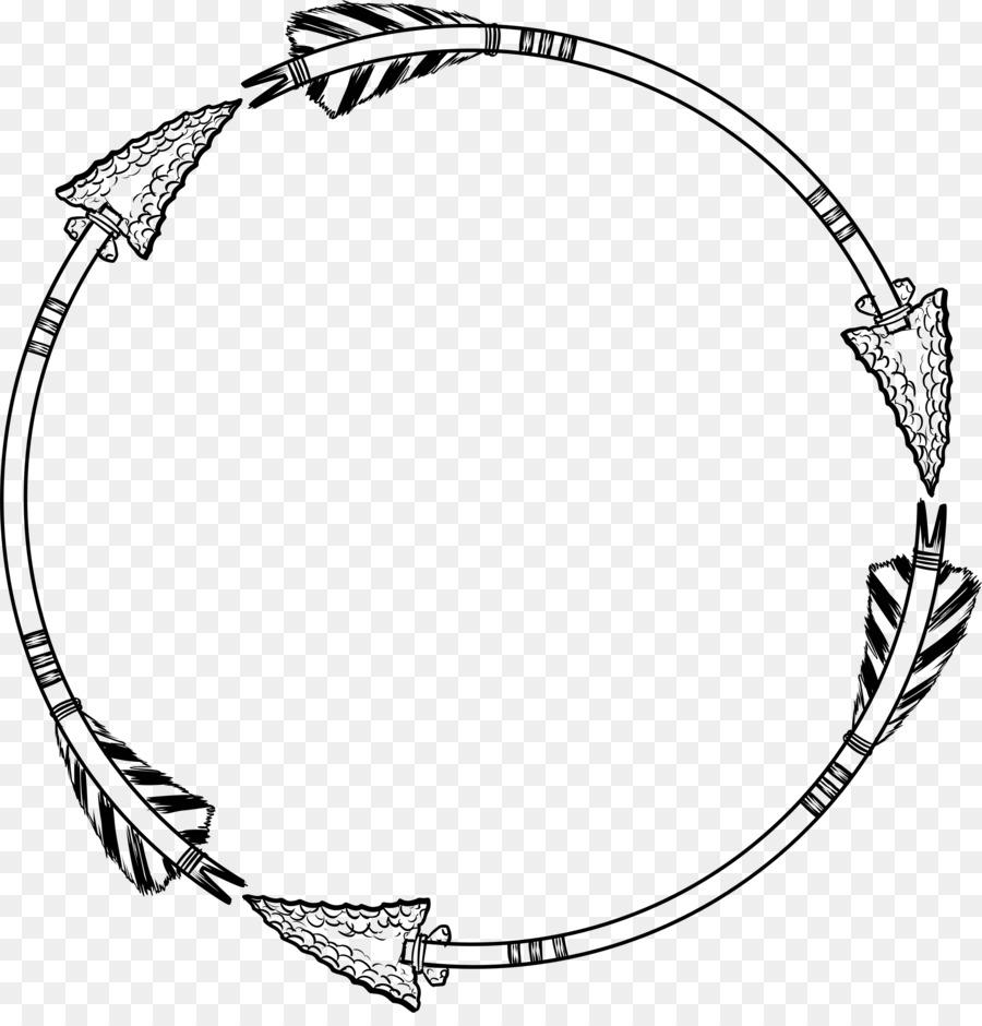 Marcos de fotos de Flecha Clip art - marco del círculo Formatos De ...