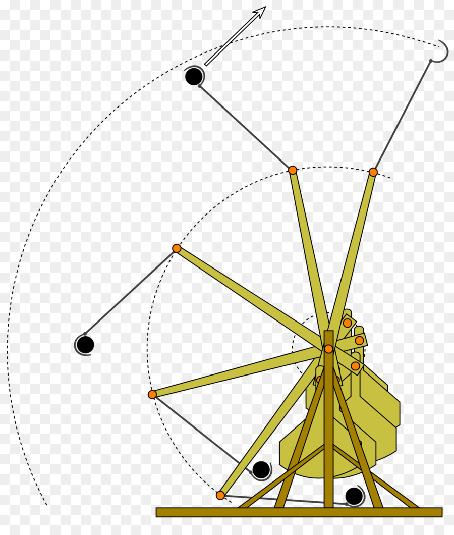 floating arm trebuchet catapult physics lever mouse trap png