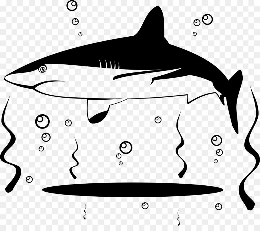Gran tiburón blanco sopa de aleta de Tiburón Clip art - los ...