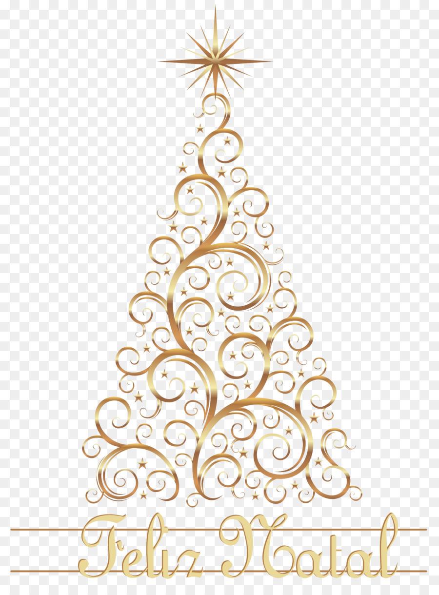 christmas tree christmas ornament christmas lights clip art gold lace
