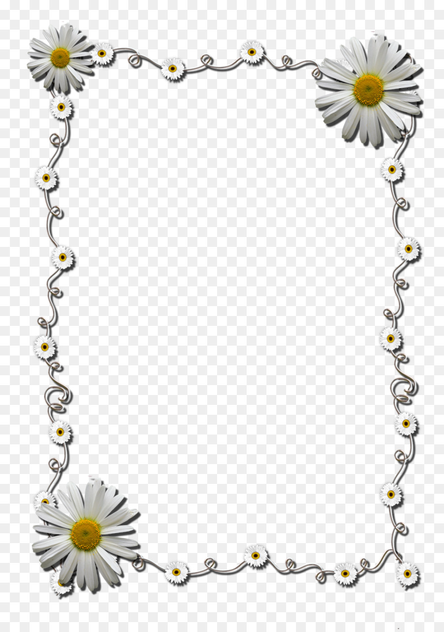 Picture Frames Drawing Border Flowers - frame flower png download ...