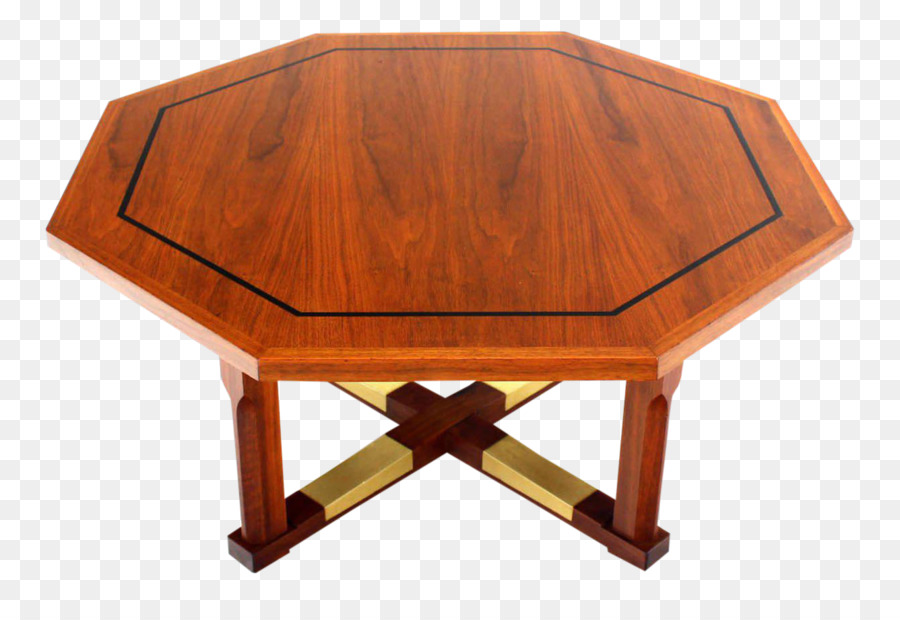 Coffee Tables Hexagon Wood Coffee Table Png Download - Hexagon wood coffee table