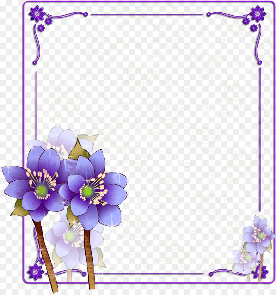 Púrpura De La Flor De La Fotografía En Color - flor de marco ...