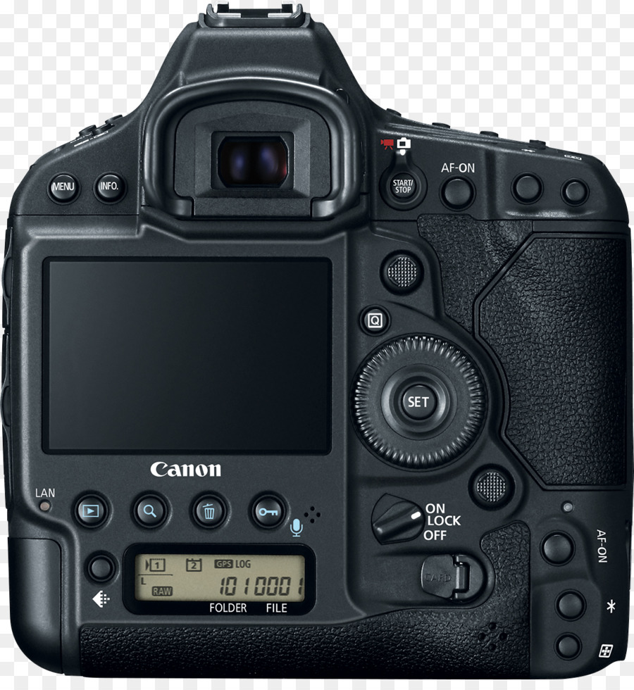 Canon EOS-1D X Full-frame digital SLR Camera - viewfinder png ...