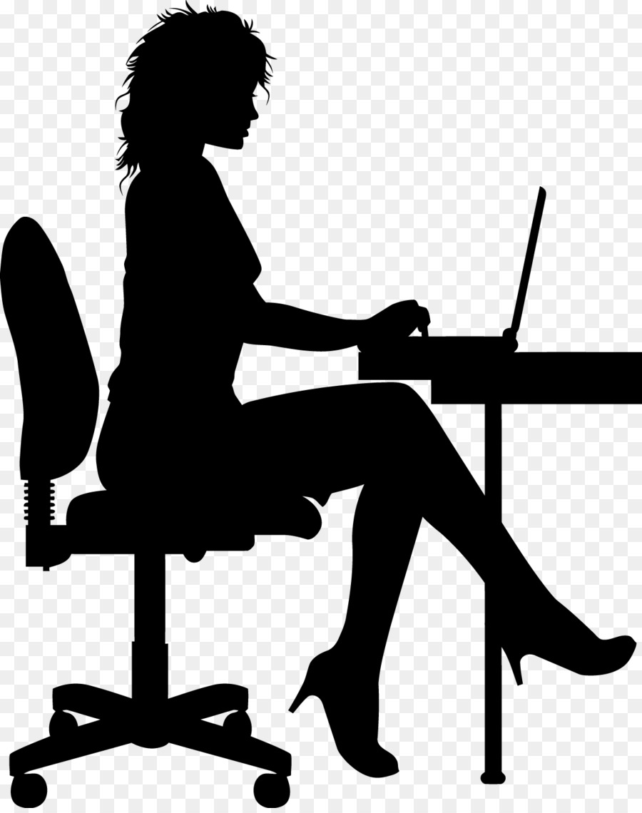 Silhouette Drawing Worker Vector Png Download 1200