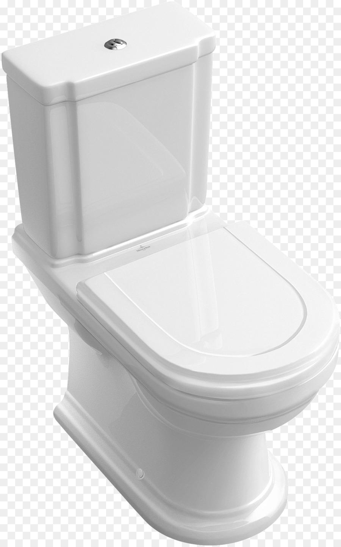 Flush toilet Villeroy & Boch Ceramic Sink - toilet png download ...