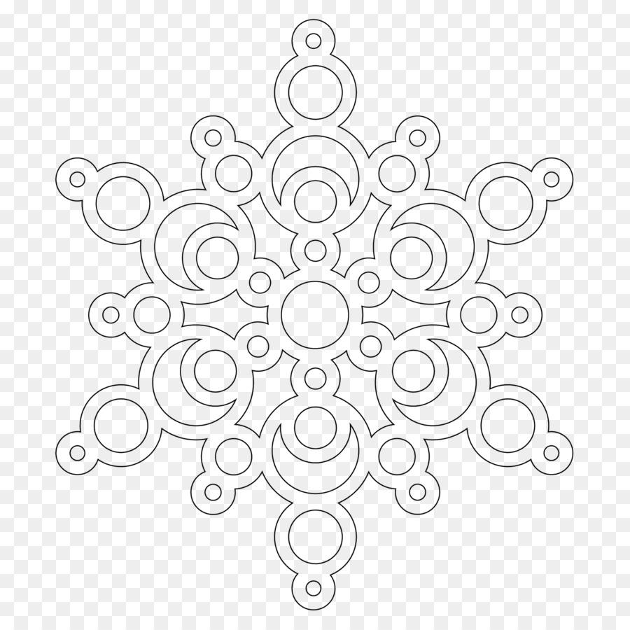 livro de colorir mandala floco de neve página da criança floco de