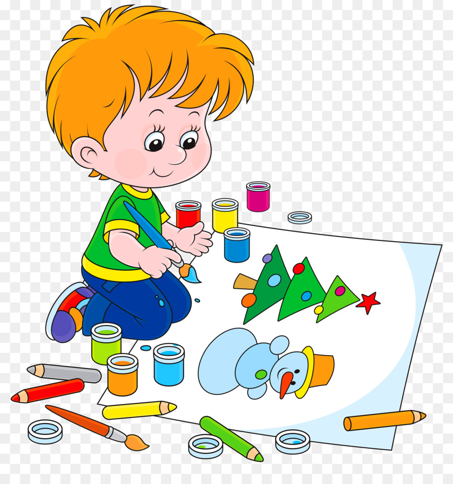 Image result for kids painting free clipart