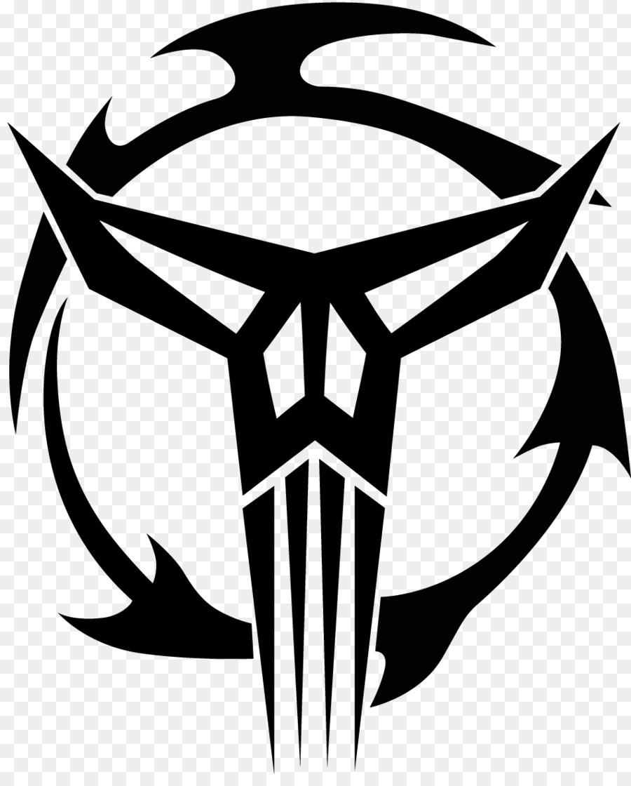 Mandalorian Crusades Boba Fett Logo Star Wars War Png Download