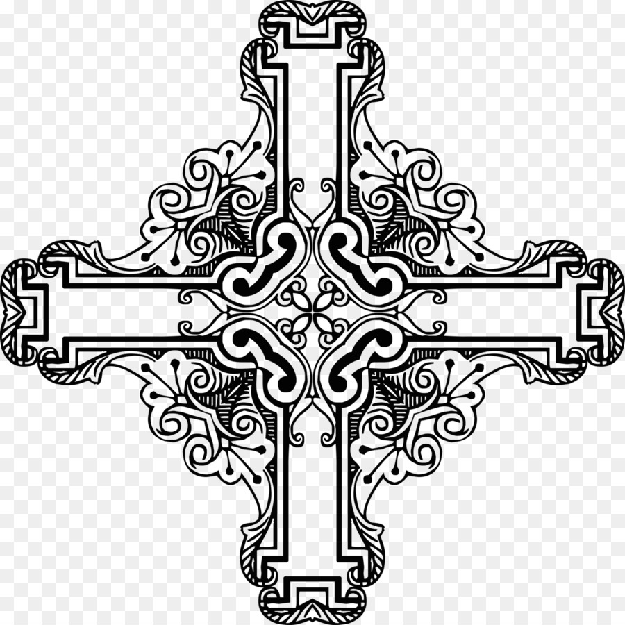 Christian cross Crucifix Picture Frames Clip art - cross png ...