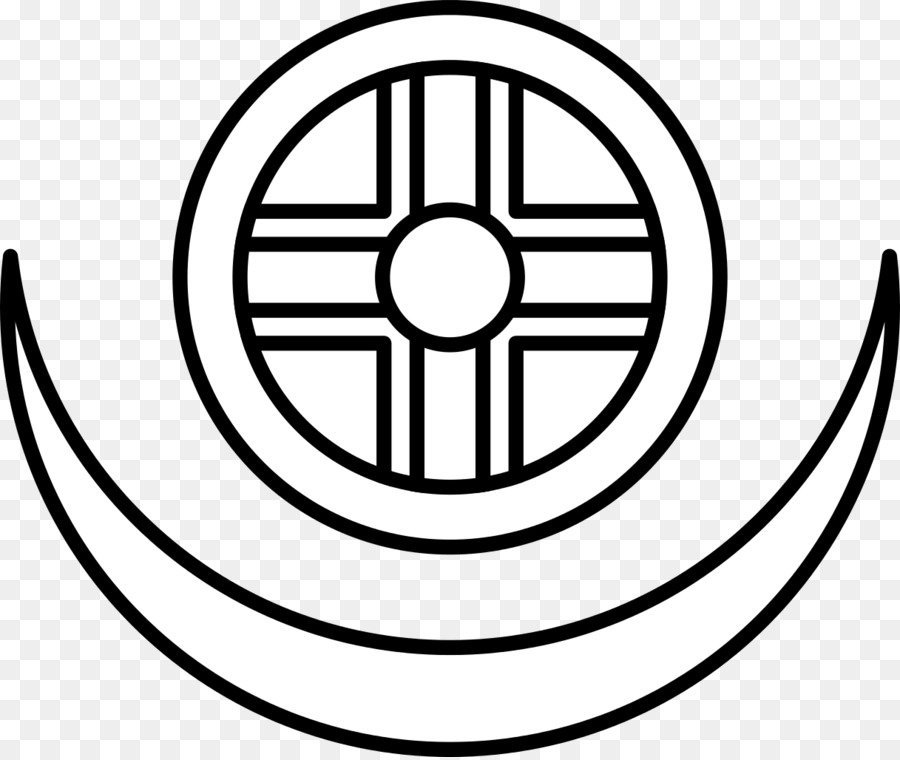 Sun Cross Solar Eclipse Symbol Lunar Phase Moon Wheel Of Dharma