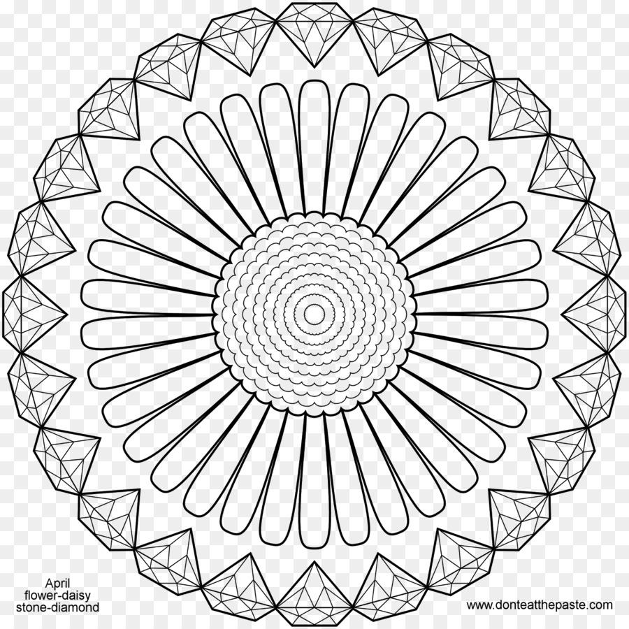 Libro Para Colorear De Diamante Mandala De Alimentos Para Colorear