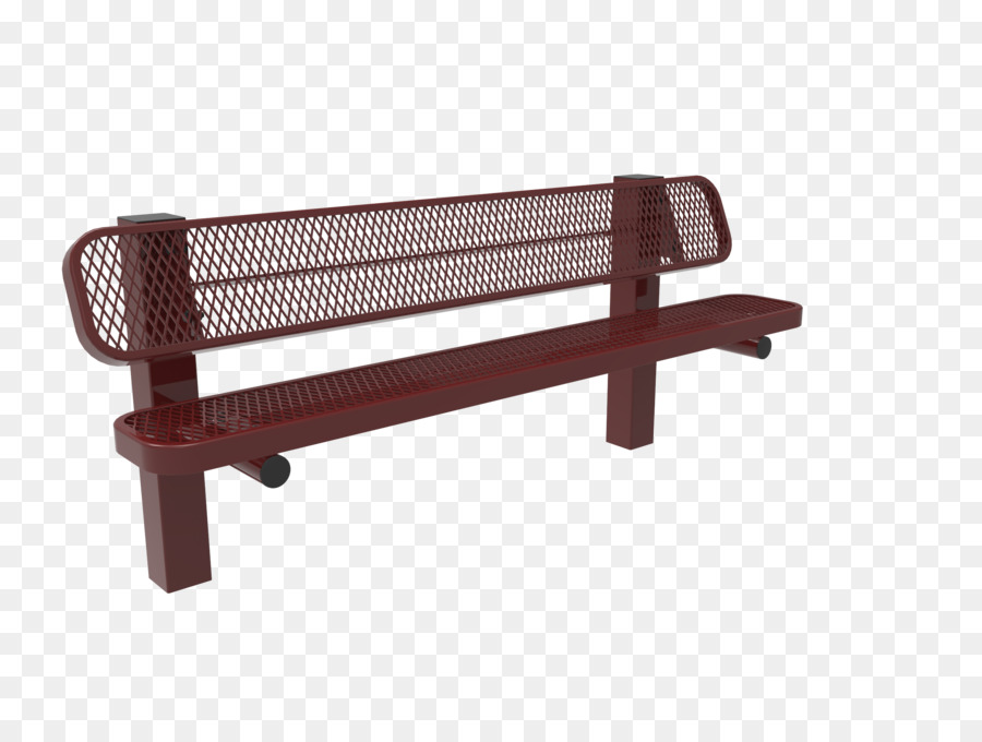 Plastisol Banco de muebles de Jardín Park - banco del parque ...