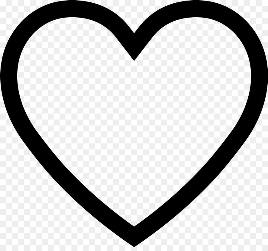 Heart Shape Symbol Heart Border Png Download 981902 Free