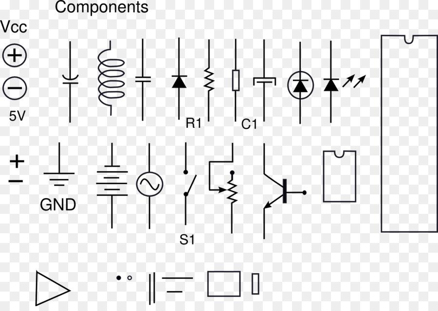 Electronic symbol Electronic component Electronic circuit Circuit ...