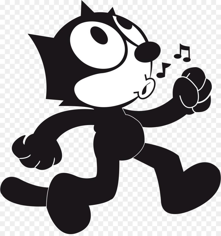 Felix The Cat Drawing Cartoon Cat Head Png Download 974 1034