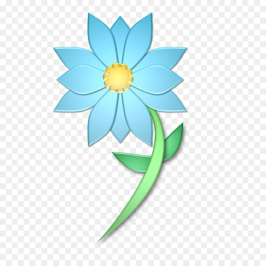 Henna Flower Circle Mehndi Flower Blue Png Download 1280 1280