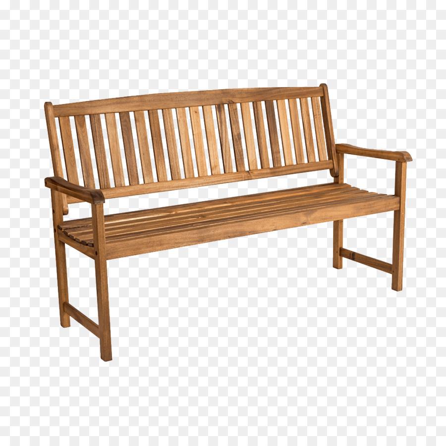Banco de Jardín muebles de madera Maciza Patio - al aire libre ...