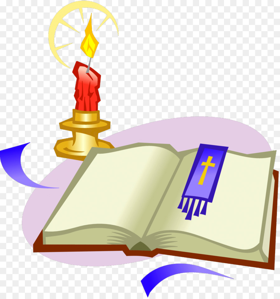 Bible Religious text Candle Clip art - Church Candles png download ... for lighted candle clip art  588gtk