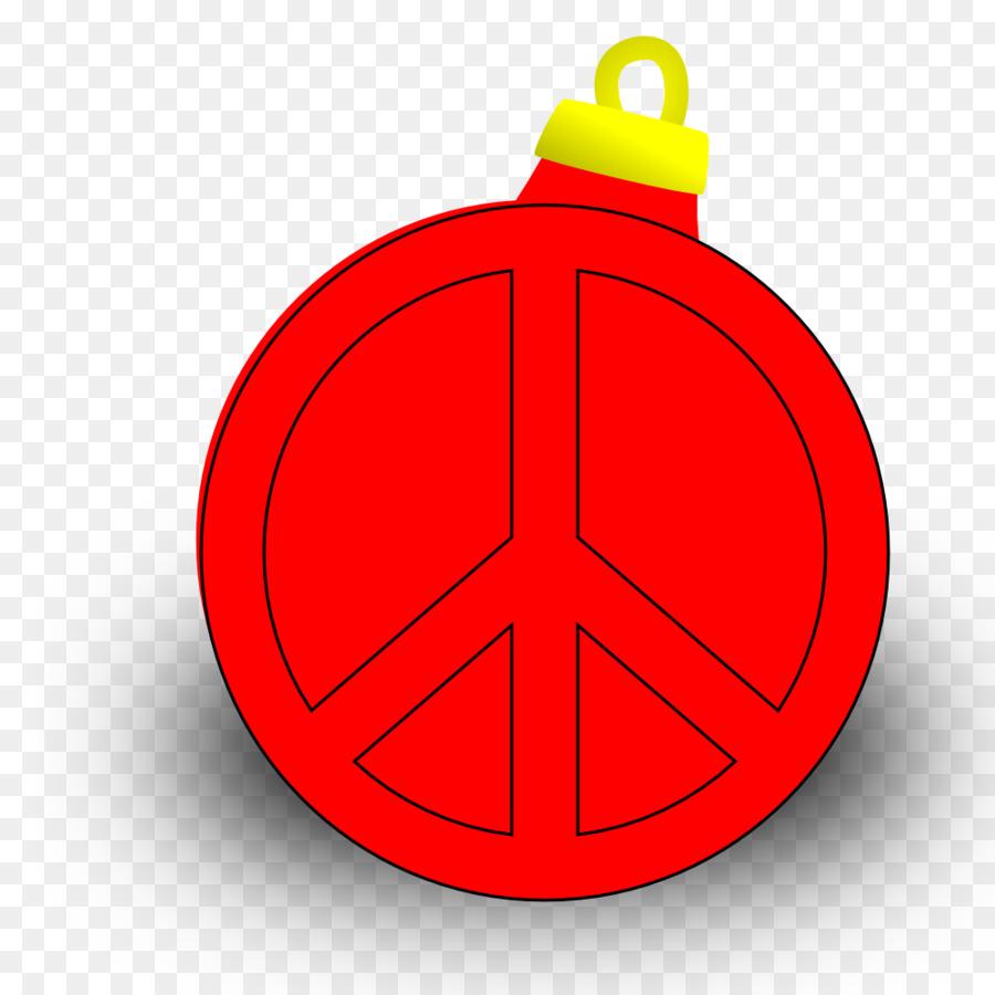 Christmas Ornament Symbol Peace Symbol Png Download 999999