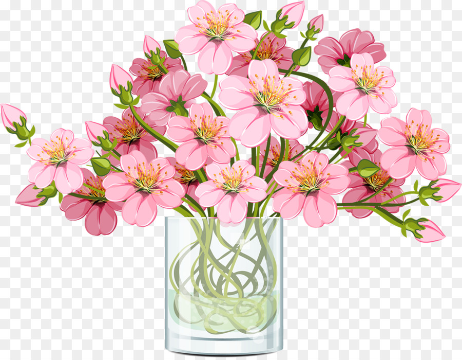 Floristry Flower bouquet Drawing - cherry blossom png download ...