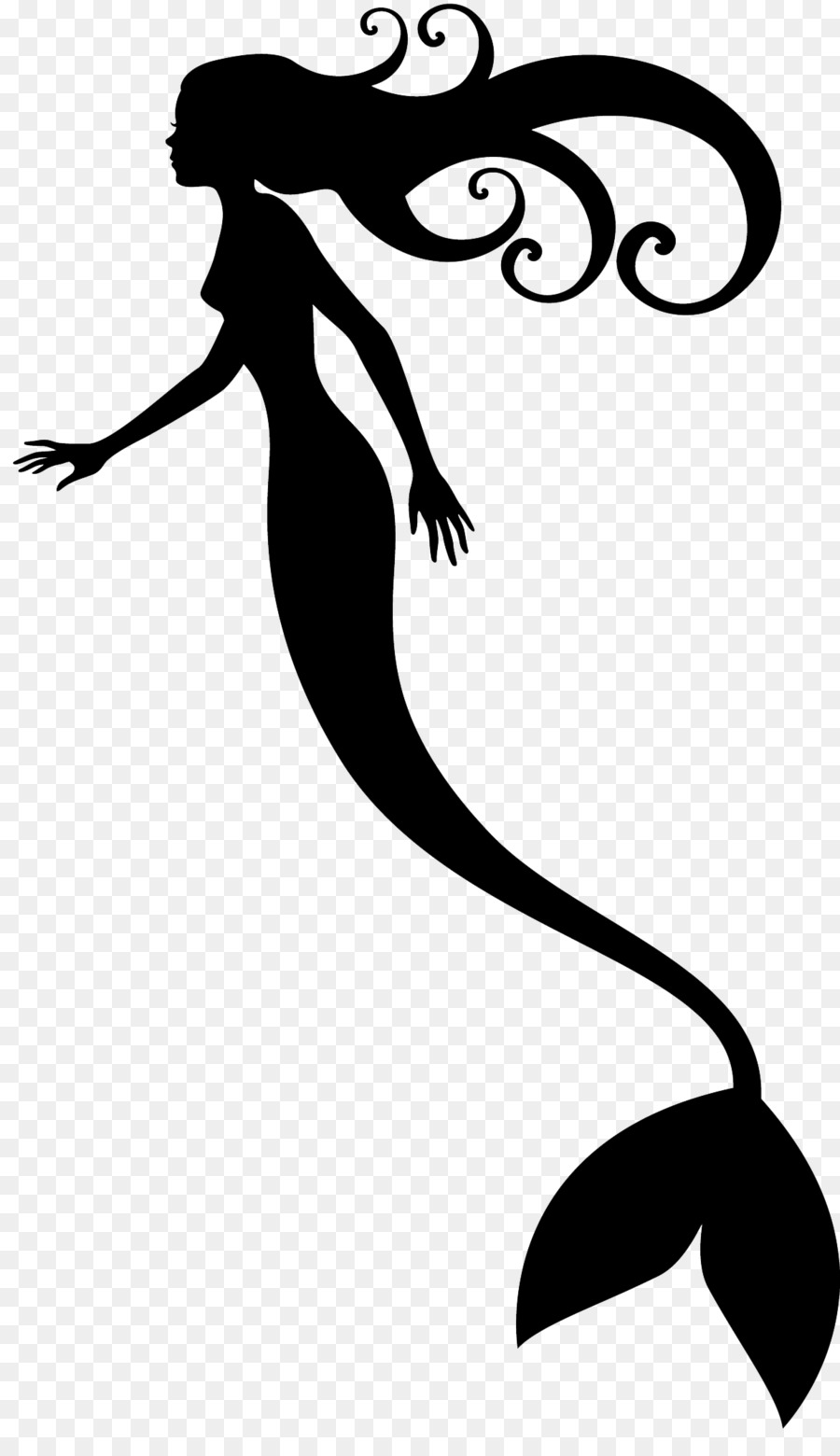 Mermaid Ariel Drawing Clip Art   Seahorse