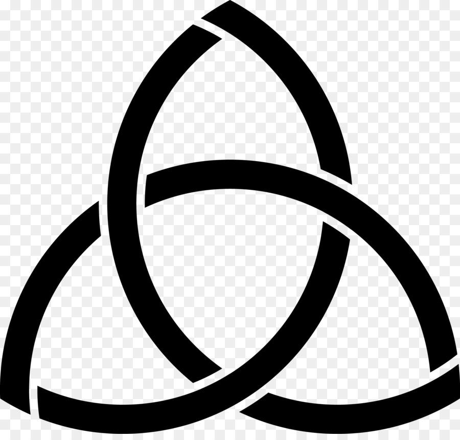 Celtic Knot Symbol Triquetra Celts Meaning Satanic Png Download