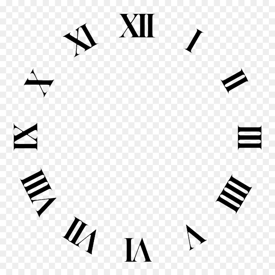 Clock Face Roman Numerals Time Clip Art Time 1150 1150