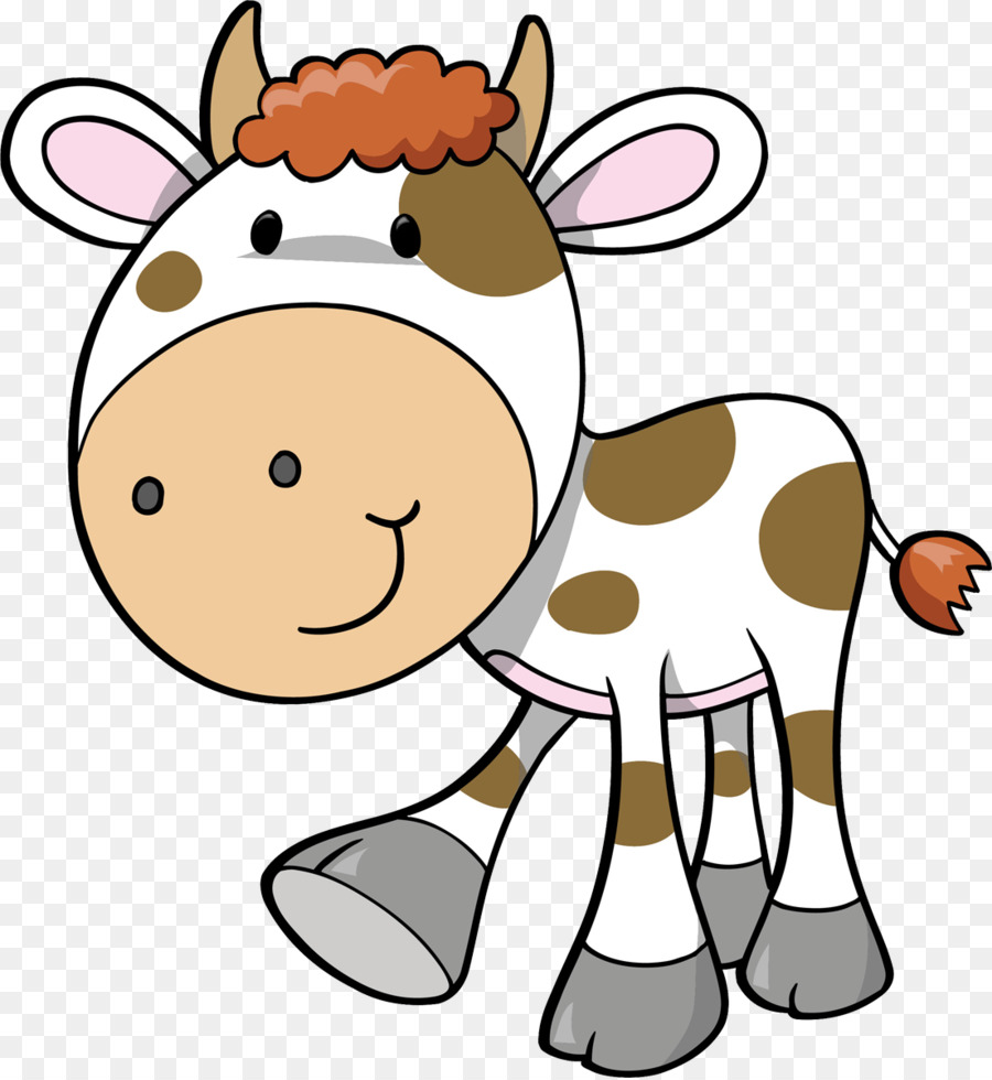 Cattle Wall decal Sticker Farm Livestock - clarabelle cow png ...
