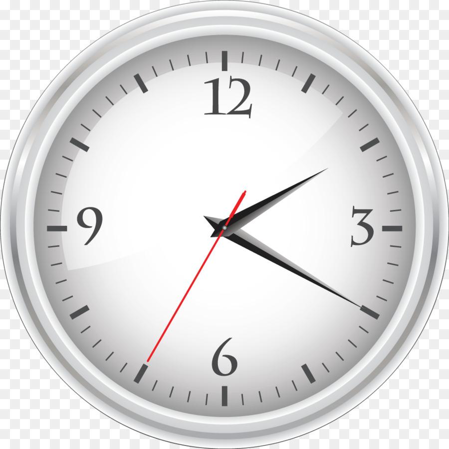 Vector Clock Alarm Clocks Clip Art Wall Clock Png Download 1024