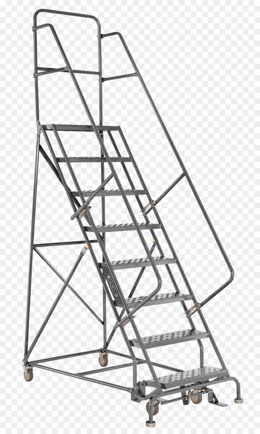 Ladder Stairs Warehouse Rolling Handrail   Ladders