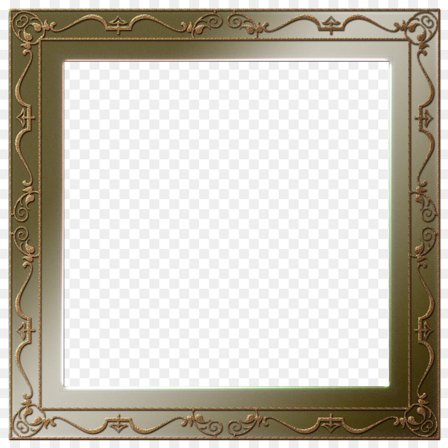 Picture Frames Oil painting - square frame png download - 2600*2600 ...
