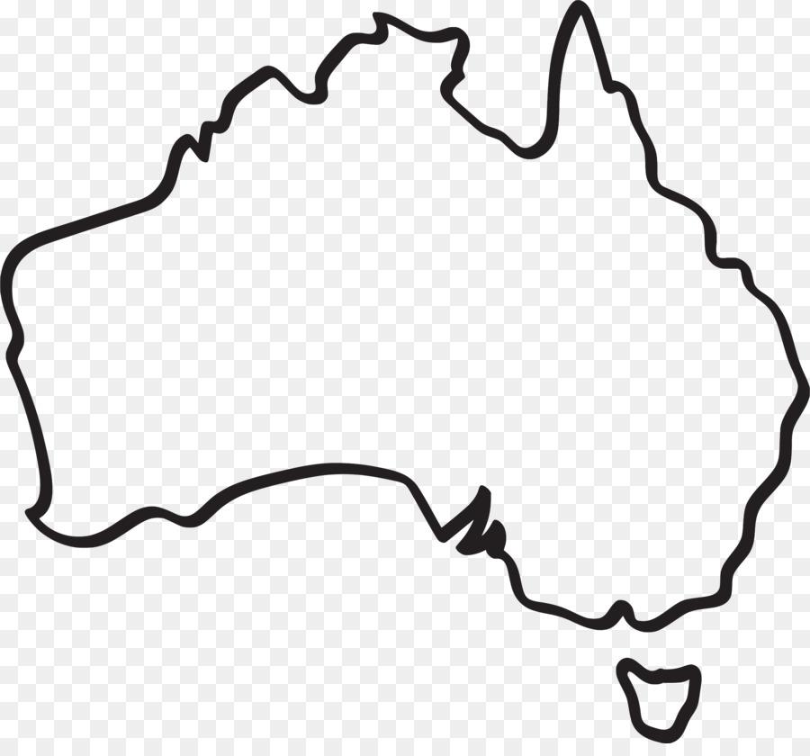 australia vector map drawing australia