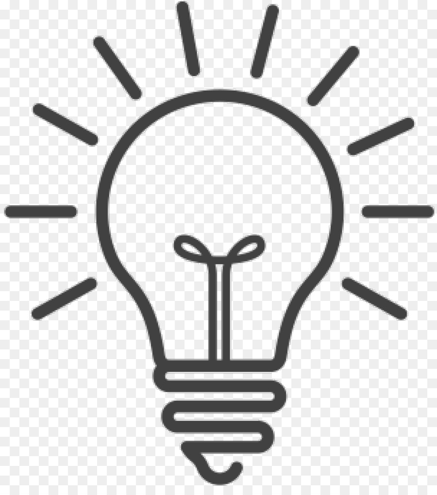 Incandescent light bulb Symbol Lamp - point of light png download ... for Incandescent Lamp Symbol  56mzq
