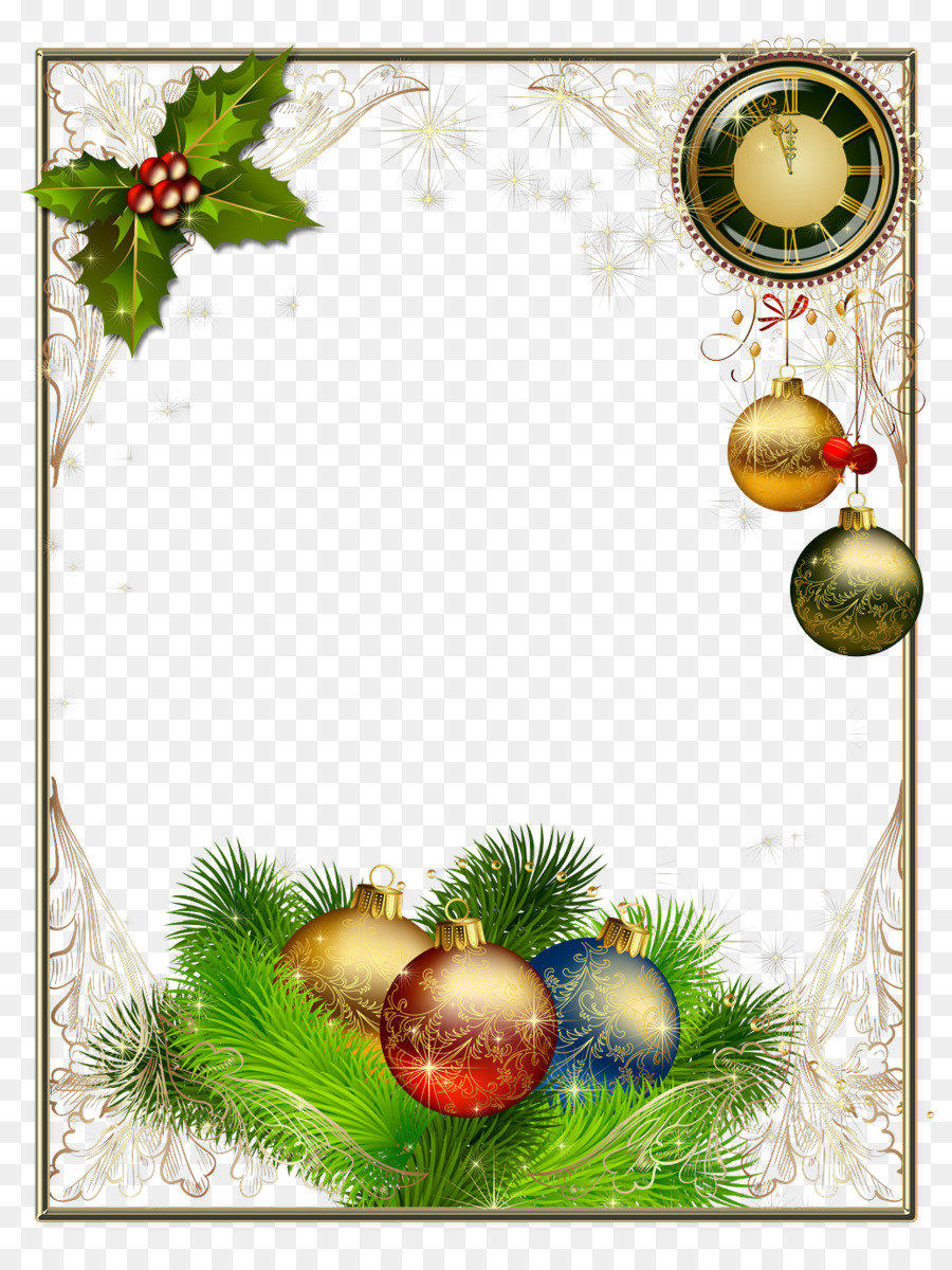 Christmas card Picture Frames Photography New Year - Mary png ...