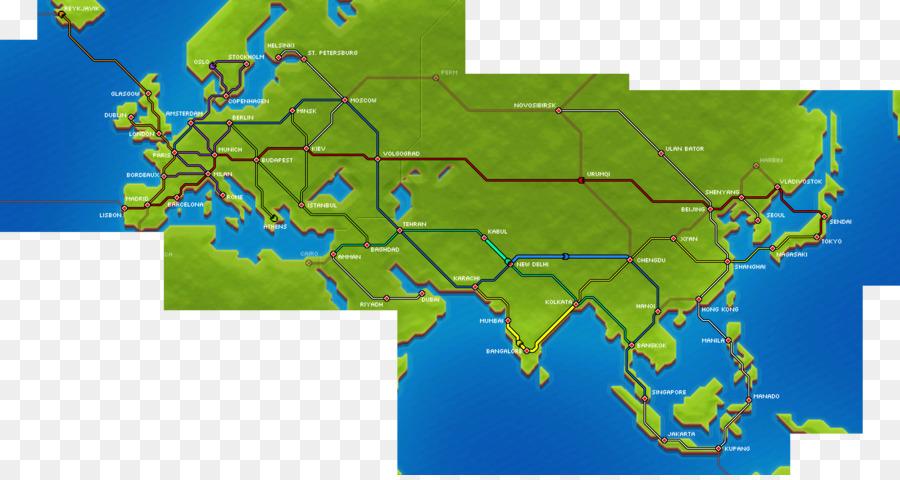 Pocket Trains Rail transport Europe Train station - railroad tracks ...