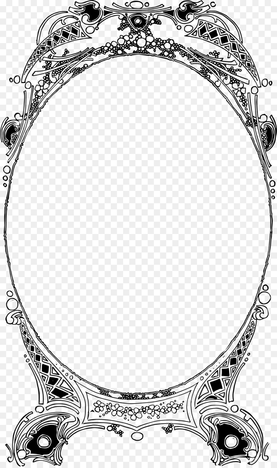 Picture Frames Clip art - circle frame png download - 1426*2400 ...