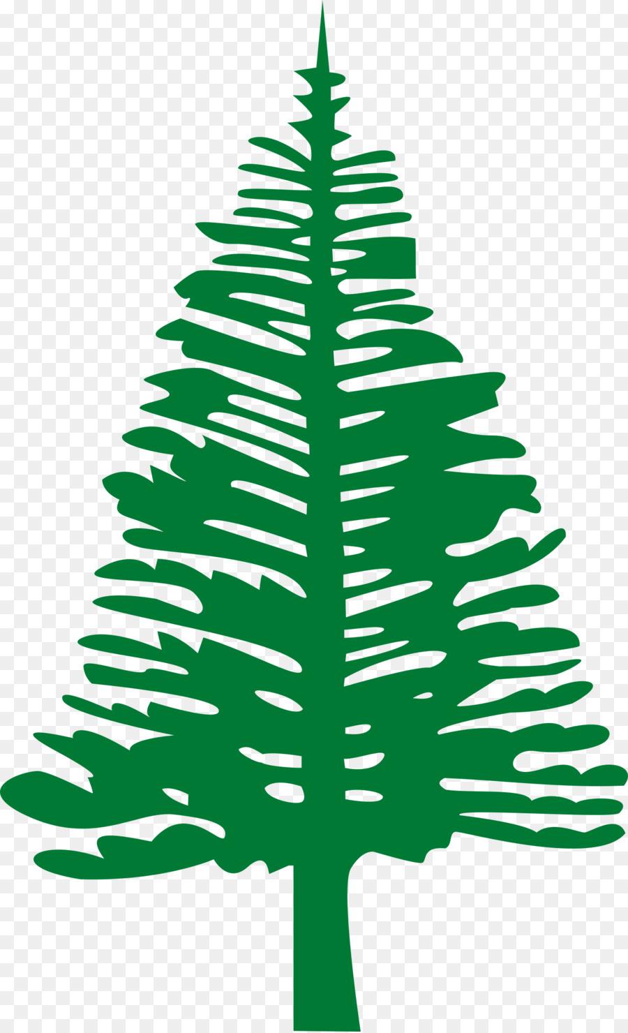 Flag of Norfolk Island Lord Howe Island Evans Head - pine leaves png ...