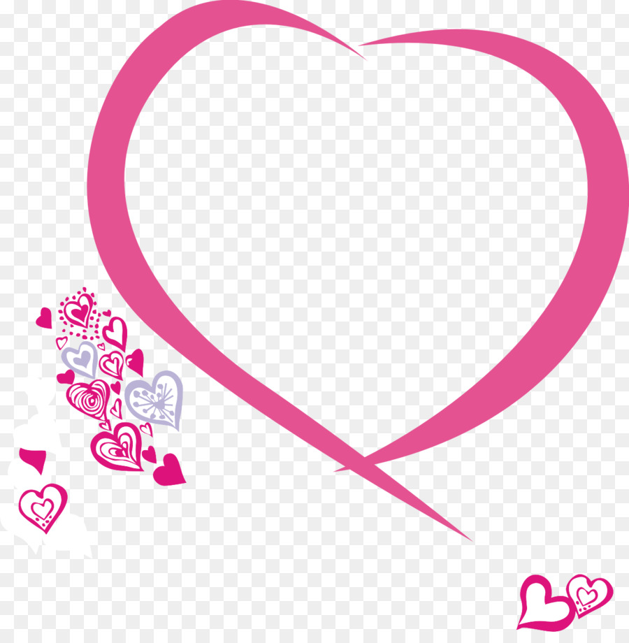Picture Frames Heart Poster Love I Love You Png Download 1246