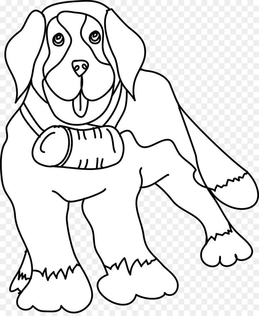 San Bernardo Teckel de Dibujo Clip art - perro de dibujos animados ...